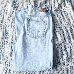 American Eagle Light Wash Mom Jeans-10